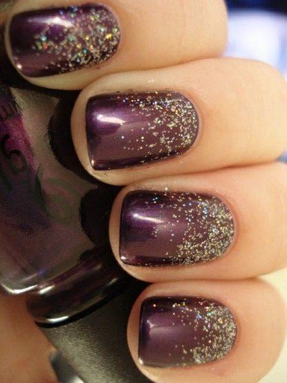 Как наносить блестки на ногти