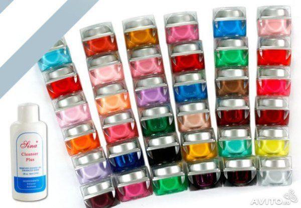 Цветной гель