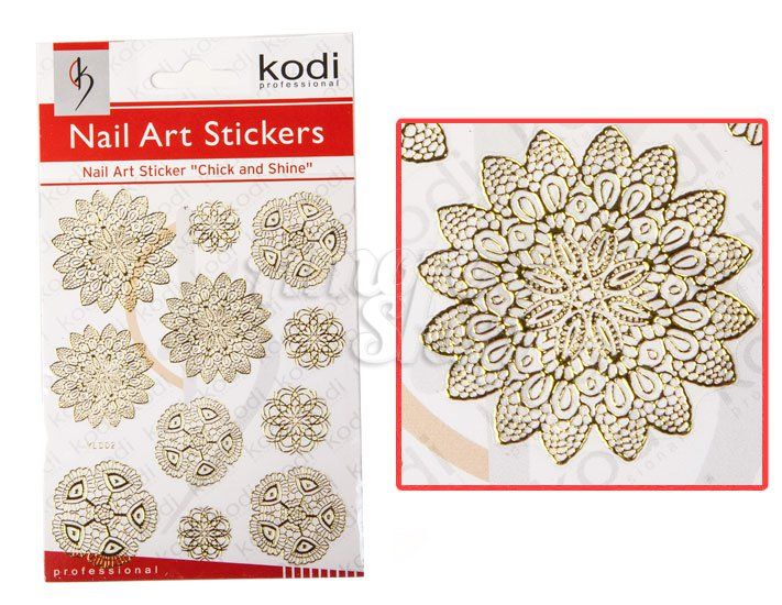 Kodi Nail Art Stickers Easy art