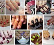 Красивые рисунки гель лаком на ногтях