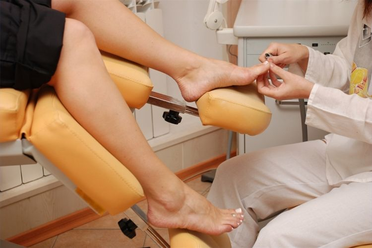 Лечение грибка ногтя