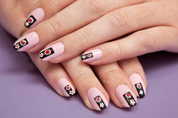 Красивые Красные Ногти С Рисунком