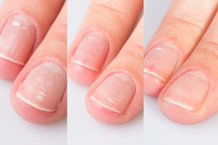 Маникюр на ногтях