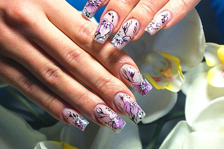 ромбовидного лица картинки лилии на ногтях необходимо для