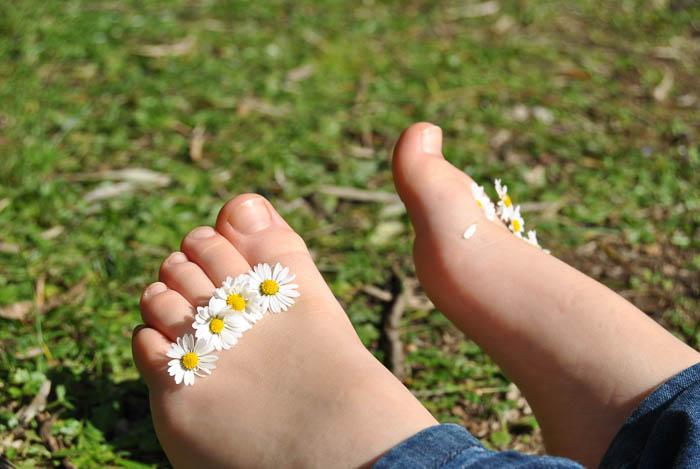 ноги малыша