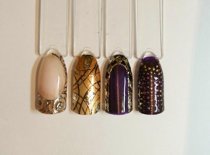Литье на ногтях (3)