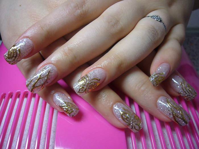 Литье на ногтях (6)