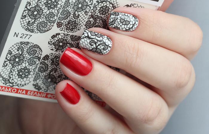 Красные ногти-4