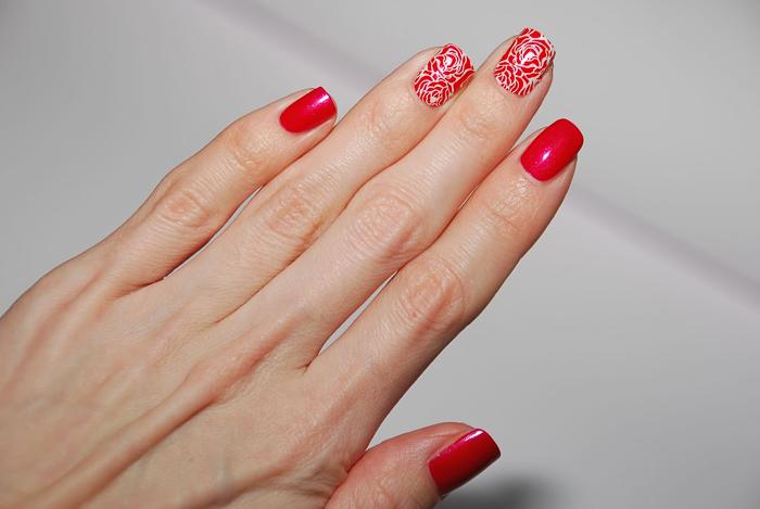 Красные ногти-5