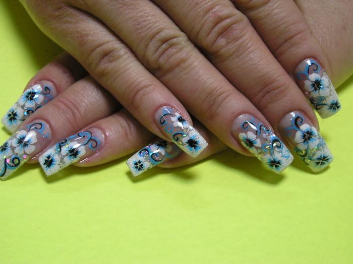 Наращивание ногтей на типсы (1)-2
