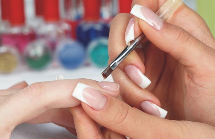 Наращивание ногтей на типсы (1)