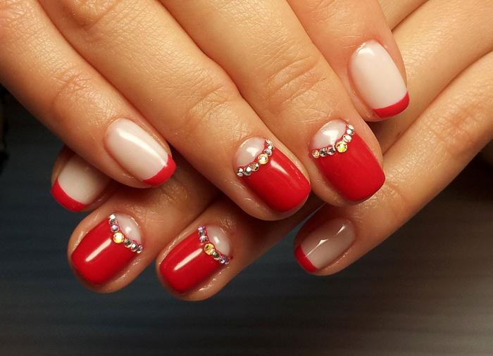 Роскошные красные ногти (2)