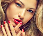Роскошные красные ногти (5)