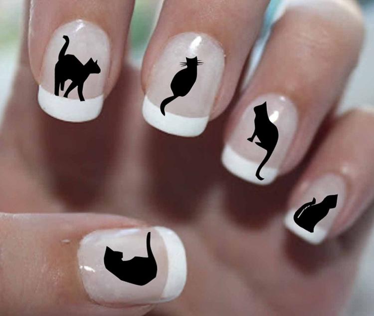 маникюр с кошками (6)