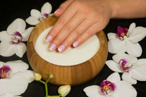 Травяные и солевые ванночки для ногтей