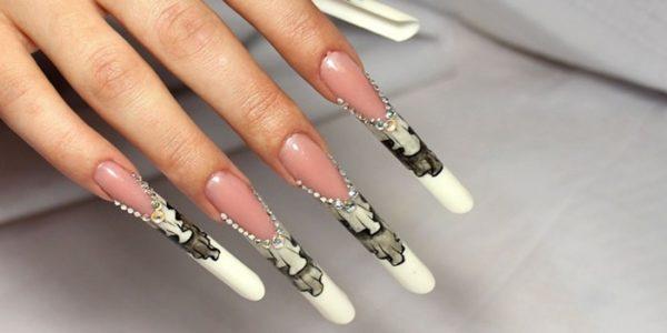 Форма «PIPE» ногтей